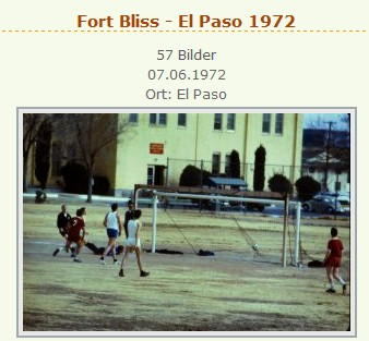 Fort Bliss El-Paso 1972